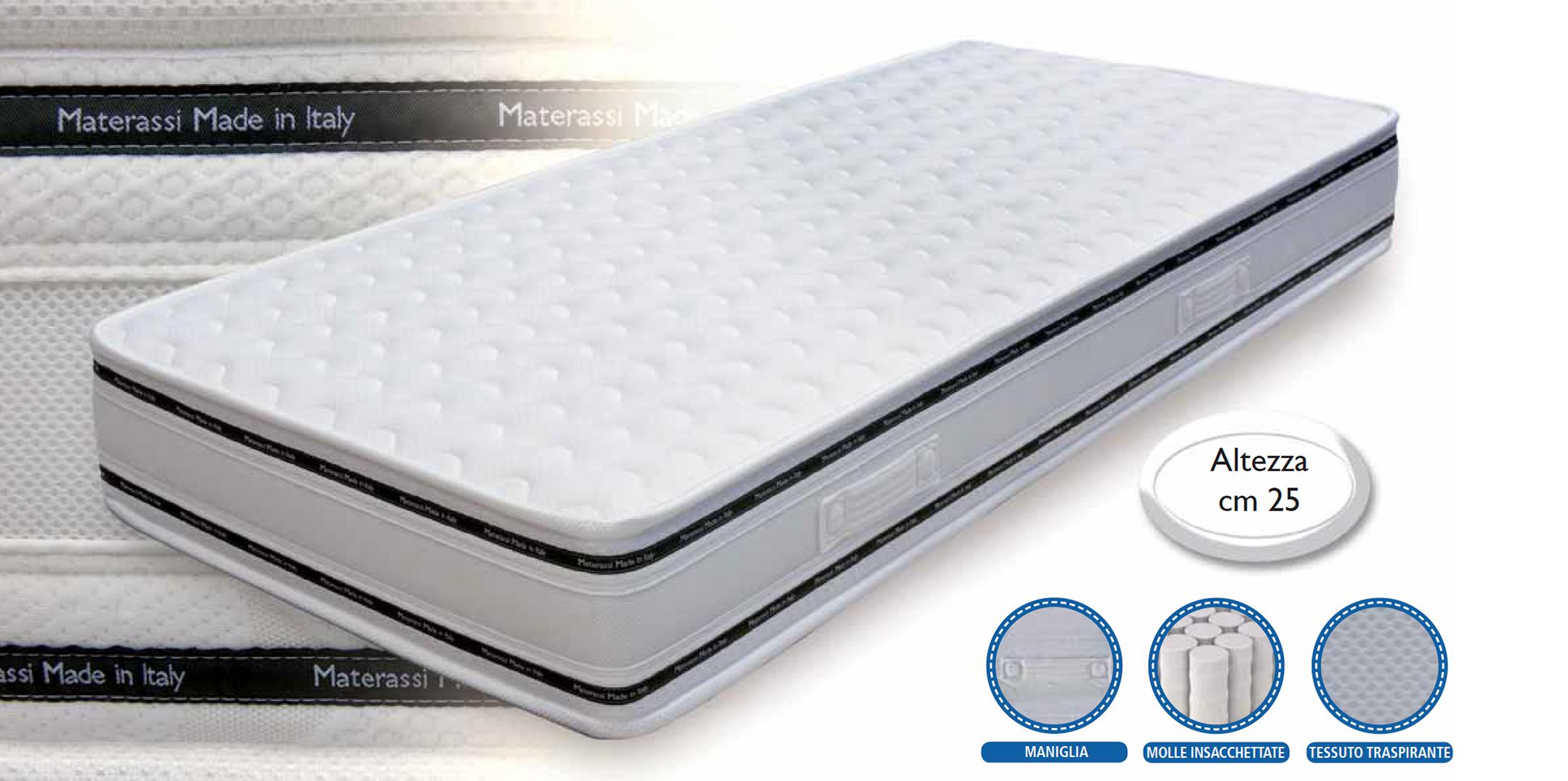 Materassi In Foam.Mattress Elite Foam Comfort Touch Materassi